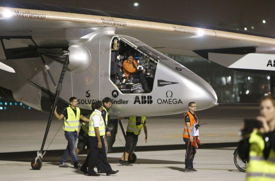 """Solar Impulse 2"" Omane"