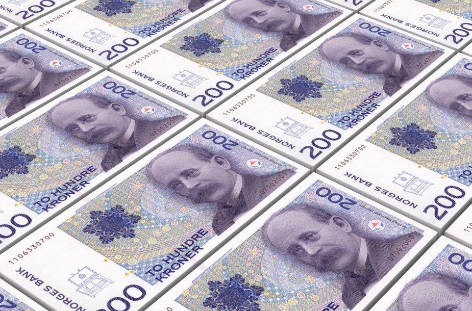 Norvegijos kronos banknotai