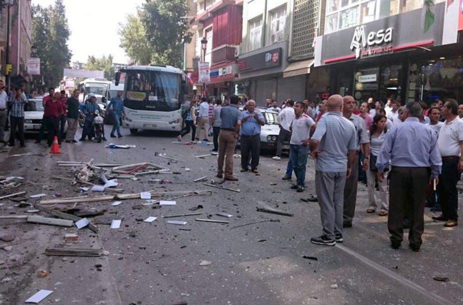 Sprogimas Turkijoje.