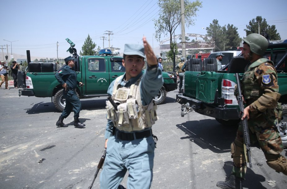 Sprogimas Afganistane