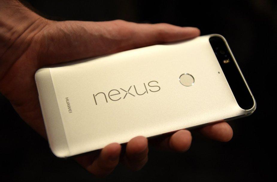 """Naujų """"Nexus"""" telefonų pristatymas"""