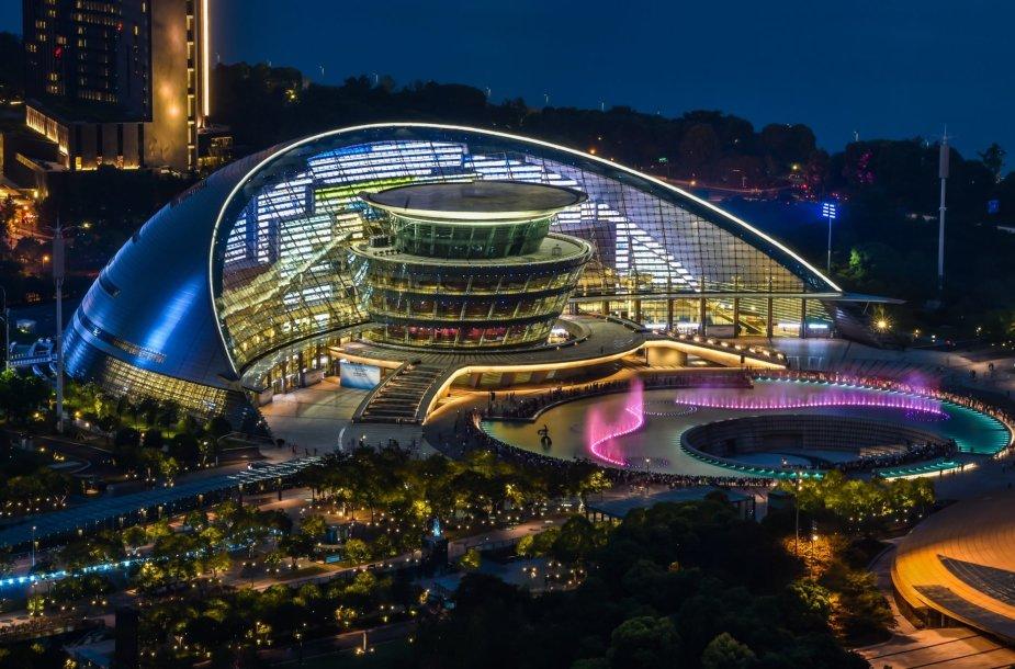 Kinijos miestas Hangdžou ruošiasi G20 susitikimui