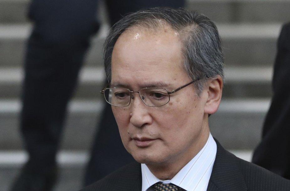 Yasumasa Nagamine - Japonijos ambasadorius Pietų Korėjoje
