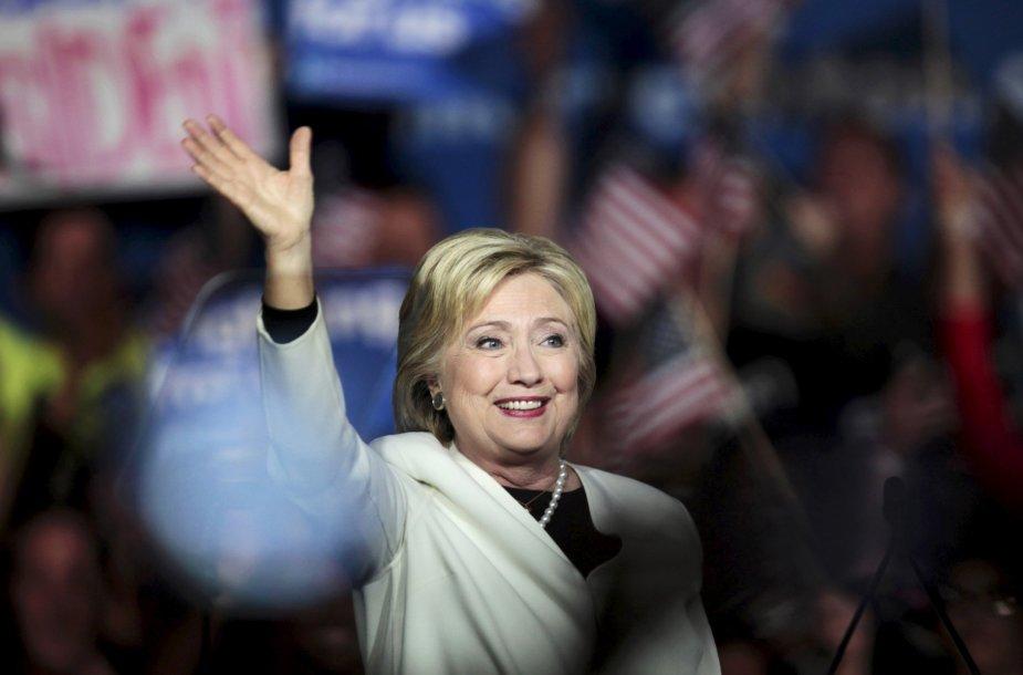 """JAV """"superantradienio"""" rinkimų maratonas"""
