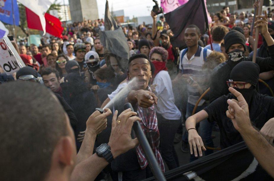 Protestas Rio de Žaneire