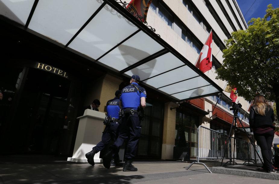 Taikos derybos vyksta Ženevoje