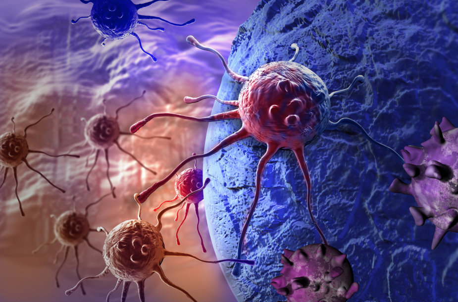 Vėžinės ląstelės