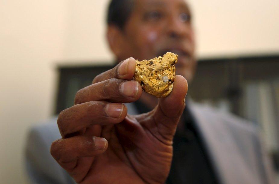 Kasykla Eritrėjoje, kurioje išgaunamas auksas, varis ir cinkas