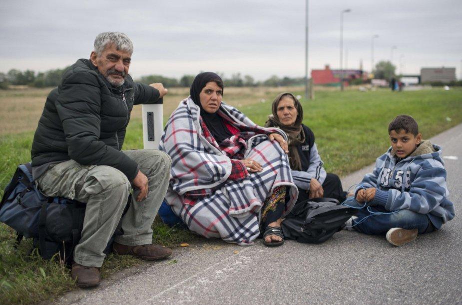 Pabėgėliai Vengrijoje