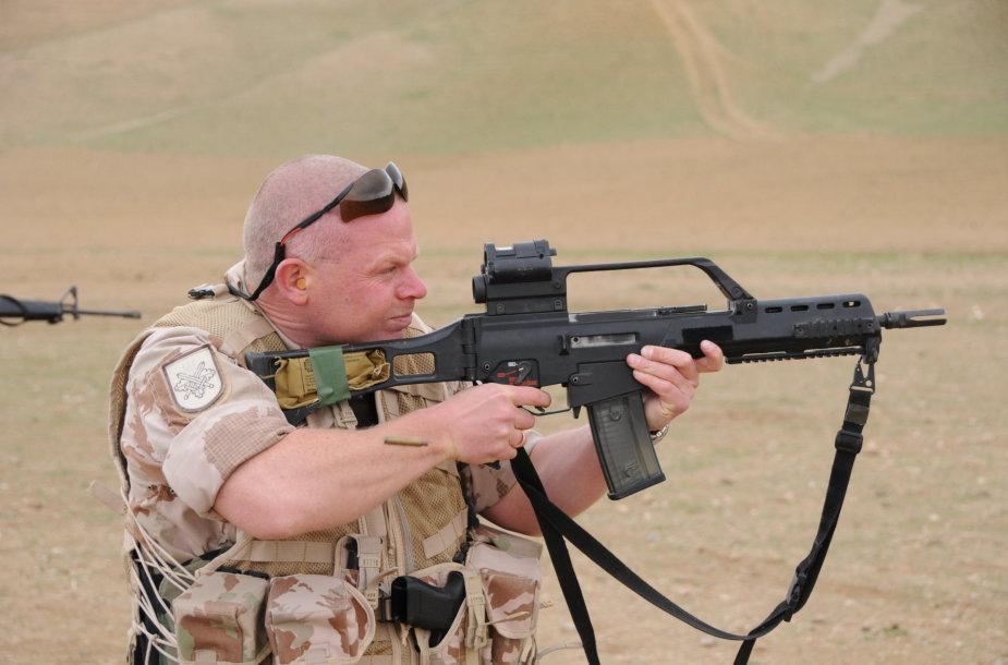 Vokietijoje kilus skandalui dėl G-36 ginklų, planai Lietuvos kariuomenei nupirkti naują šių ginklų partiją atidėti