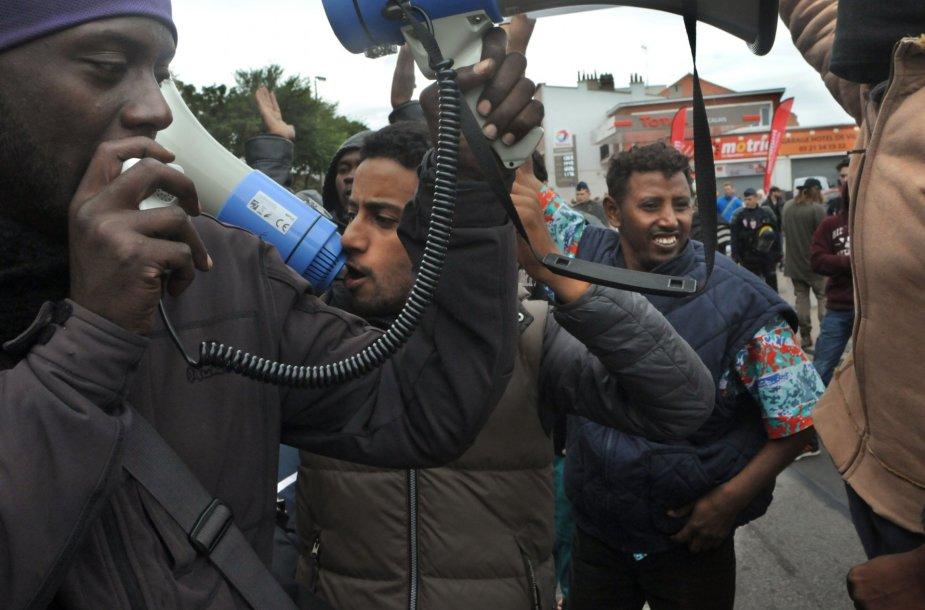 Pabėgėlių protestas
