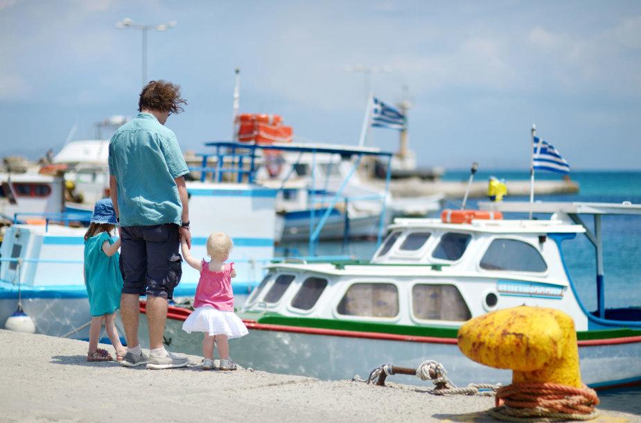 Atostogos Graikijos salose