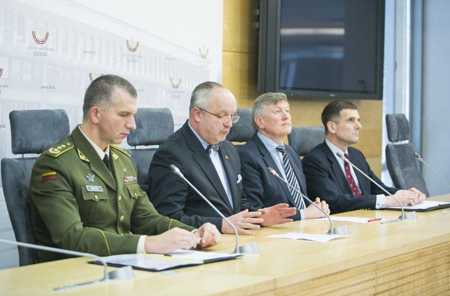 Valstybės saugumo departamentas pristatė 2014 metų grėsmių nacionaliniam saugumui vertinimą.