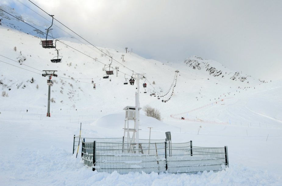 Grands Montets kalnas