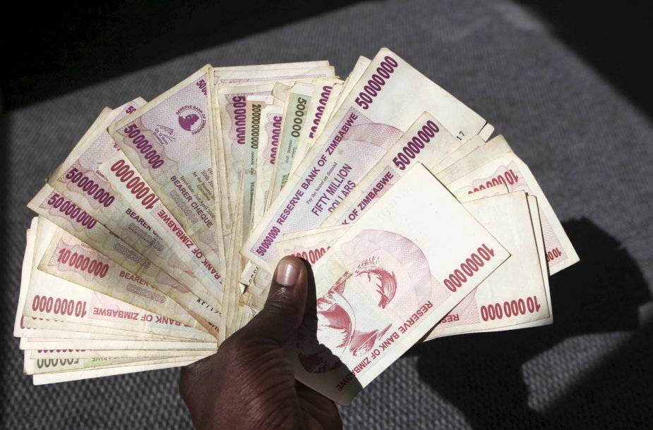 Zimbabvės doleriai