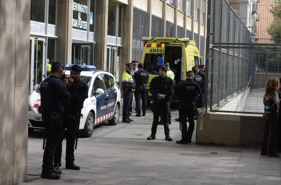 Išpuolis Barselonoje.