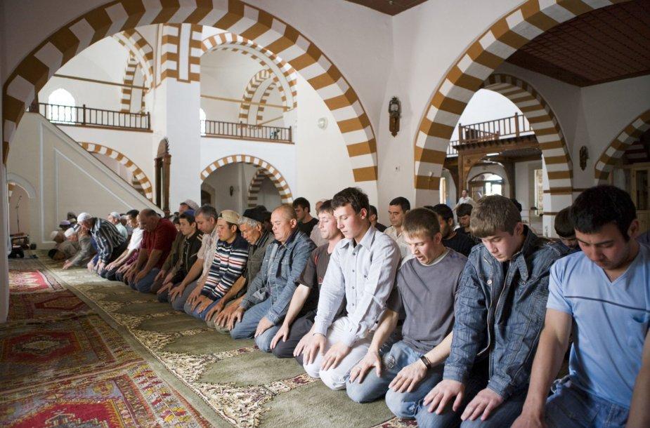 Musulmonų pamaldos Vidurio Azijoje