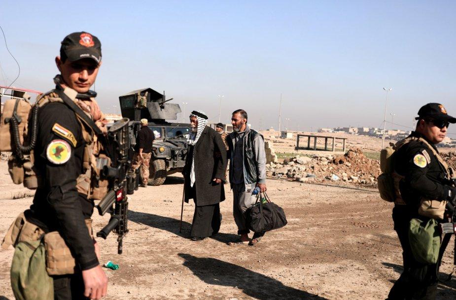 Irake tęsiasi kovos