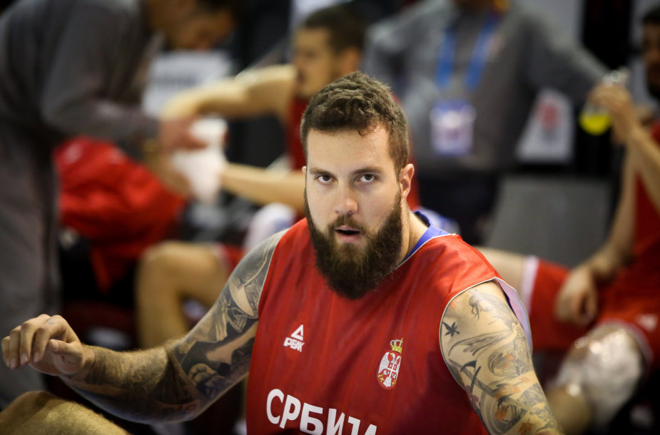 Serbų treniruotė