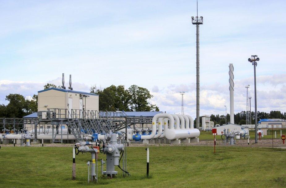 Latvijoje esanti Inčiukalnio požeminė gamtinių dujų saugykla