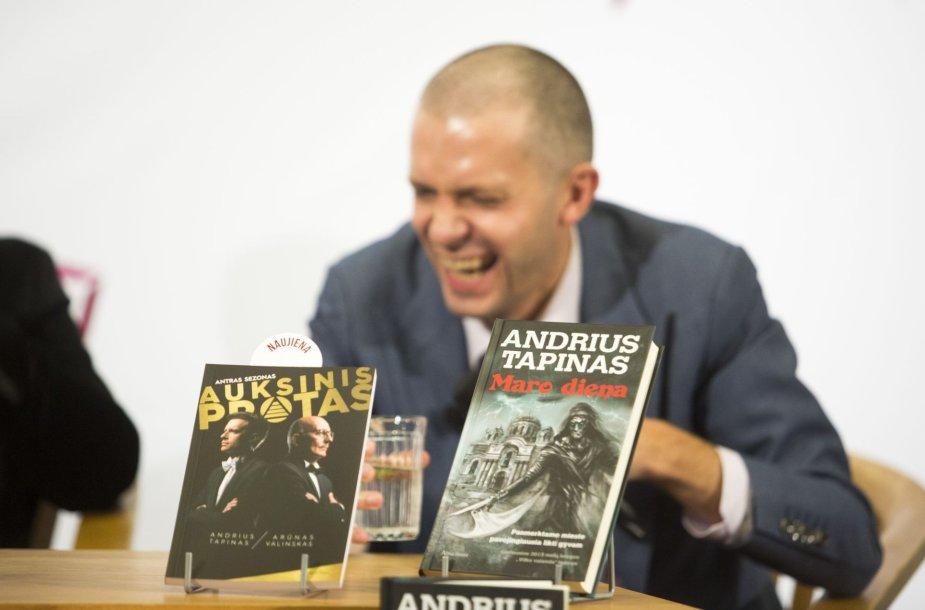 Andriaus Tapino ir Algimanto Čekuolio diskusija apie literatūrą