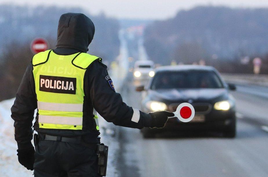 Sausio 2 d. rytinis reidas Vilniuje prieš neblaivius vairuotojus