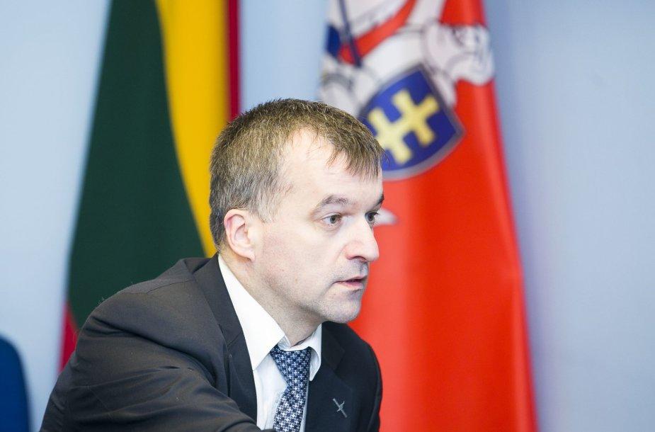 Aplinkos ministerijos kancleris Robertas Klovas
