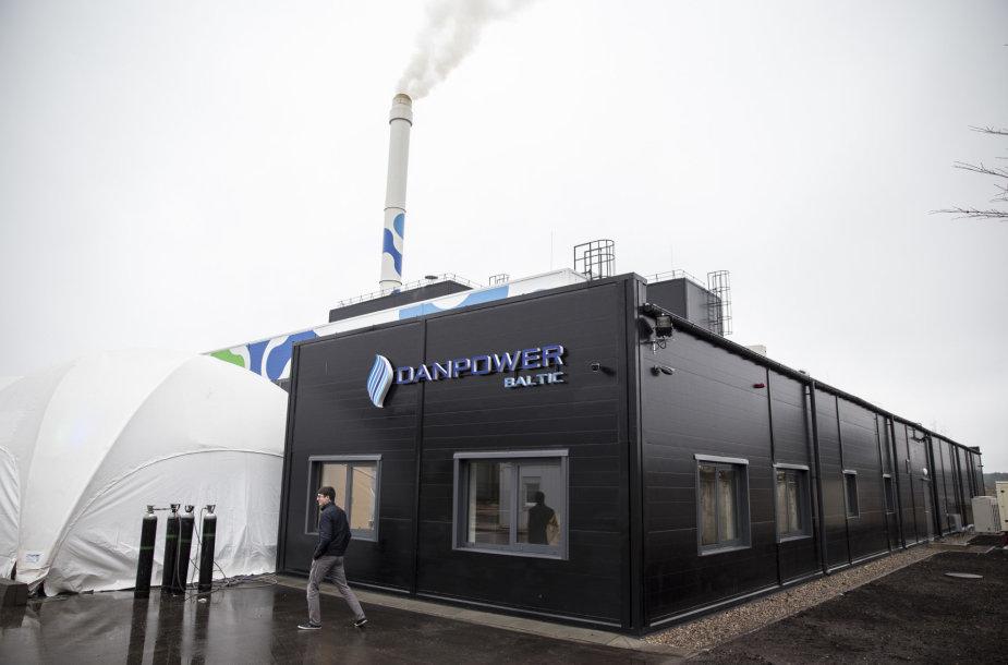 Vilniuje atidaryta nauja biokuro jėgainė