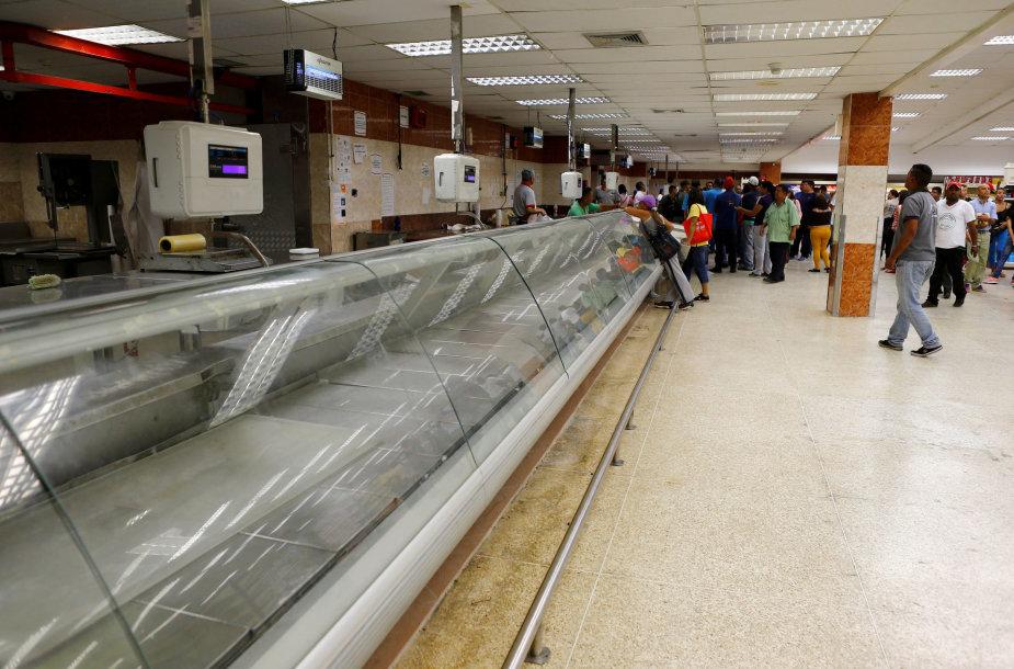 Venesueloje trūksta maisto
