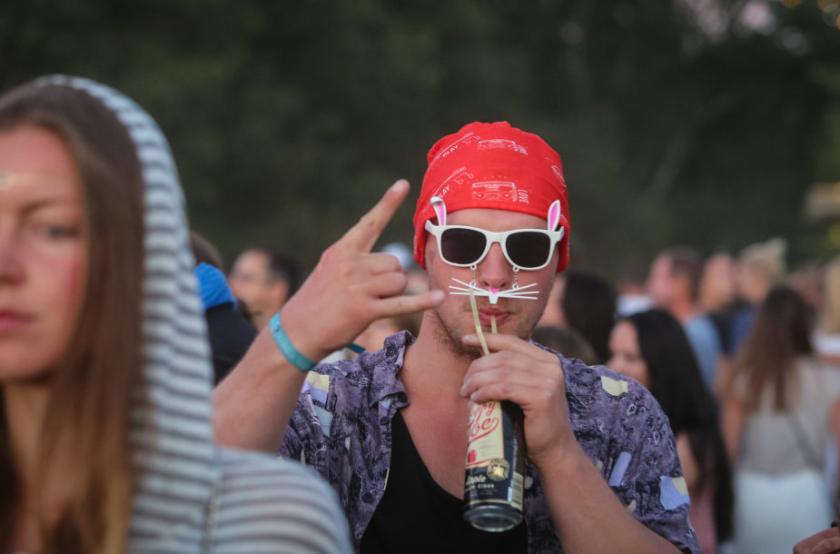 """Festivalio """"Karklė 2015"""" poilsiautojai"""