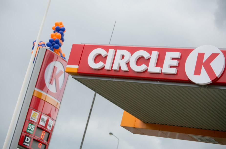 """Pirmosios """"Circle K"""" degalinės atidarymas Vilniuje"""