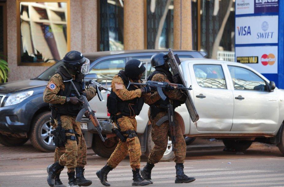 Įkaitų drama Burkina Fase