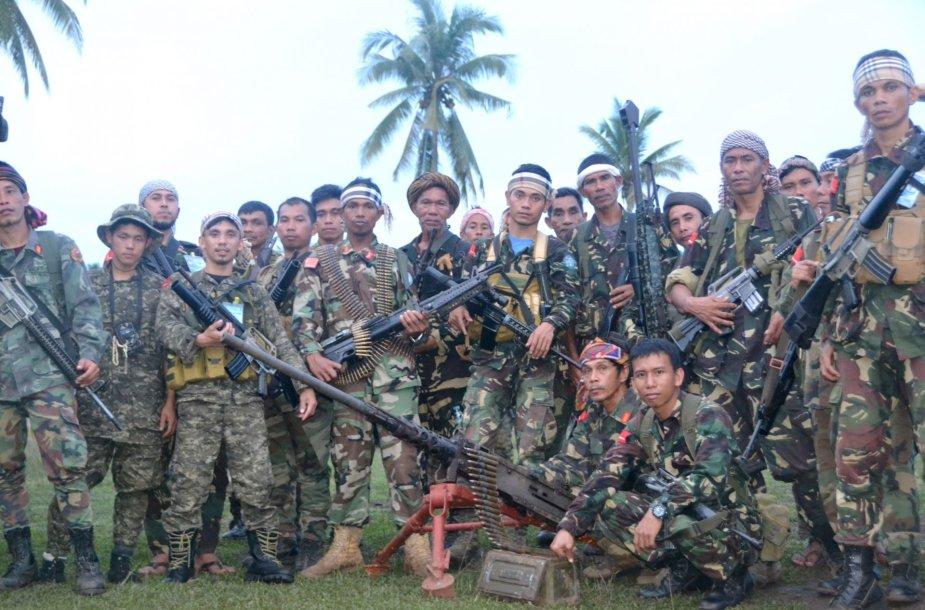 """""""Abu Sayyaf"""" grupuotė Filipinuose"""