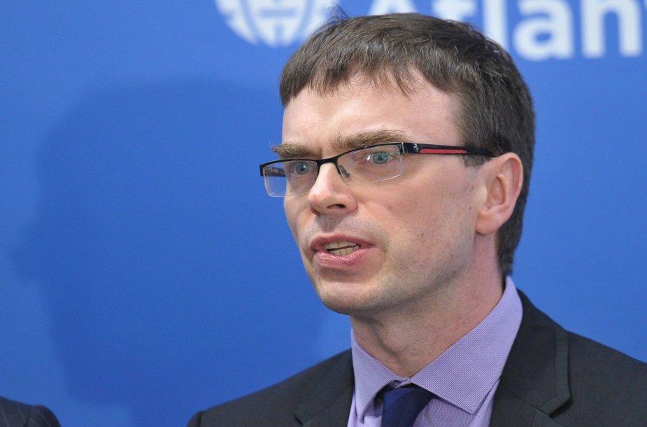 Estijos užsienio reikalų ministras Svenas Mikseris