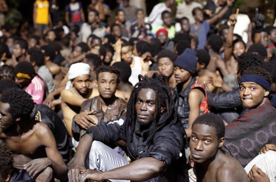 Migrantai Ispanijoje