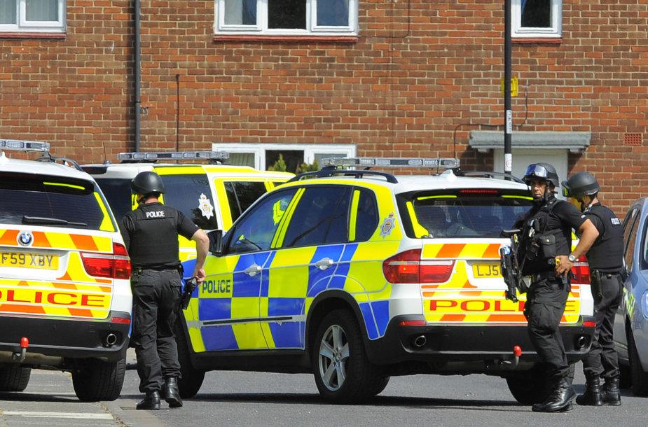 Anglijos policija.