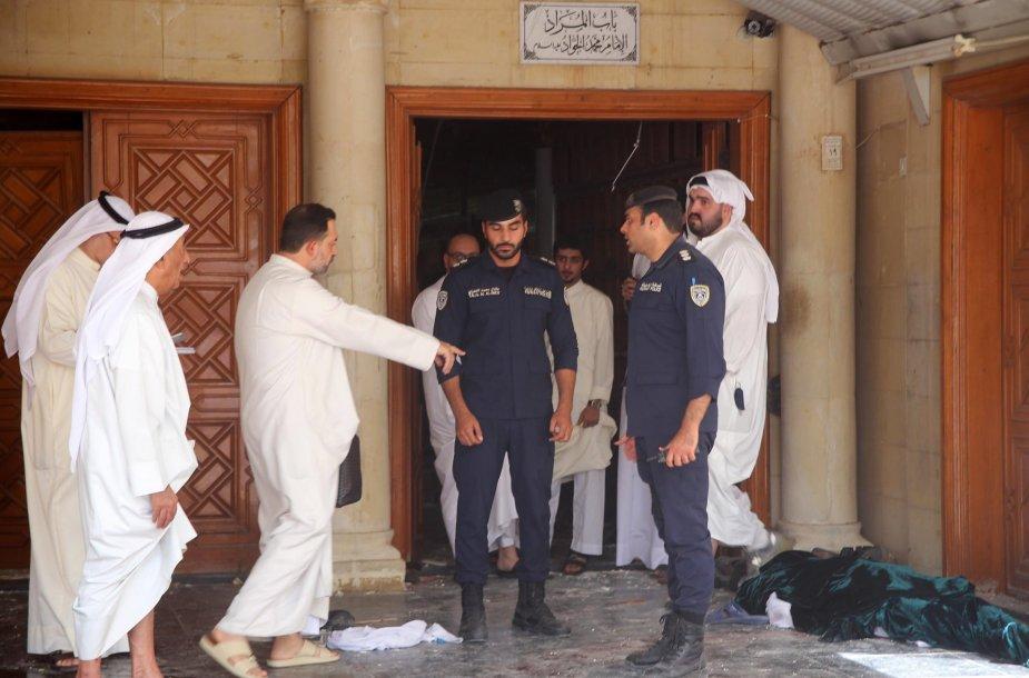 Teroristinis išpuolis Kuveito mečetėje