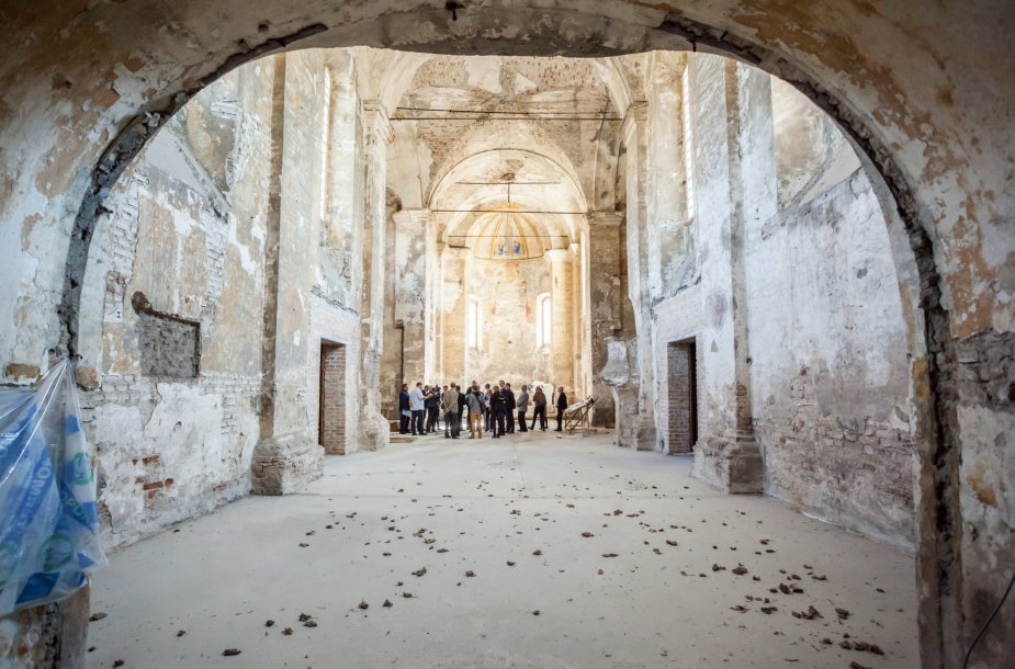 Restauruojama Šv. Stepono bažnyčia