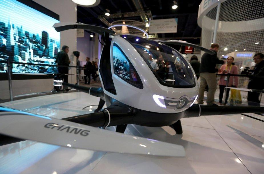 Ehang 184 – pirmasis dronas, kuriuo gali skristi žmogus