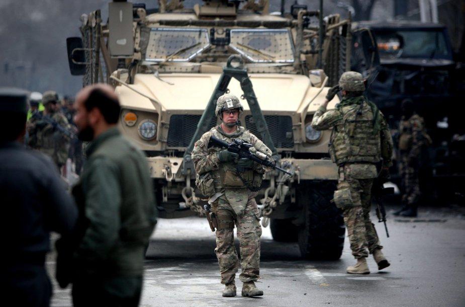 JAV kariai Kabule