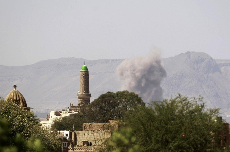 Sprogimas Jemene.