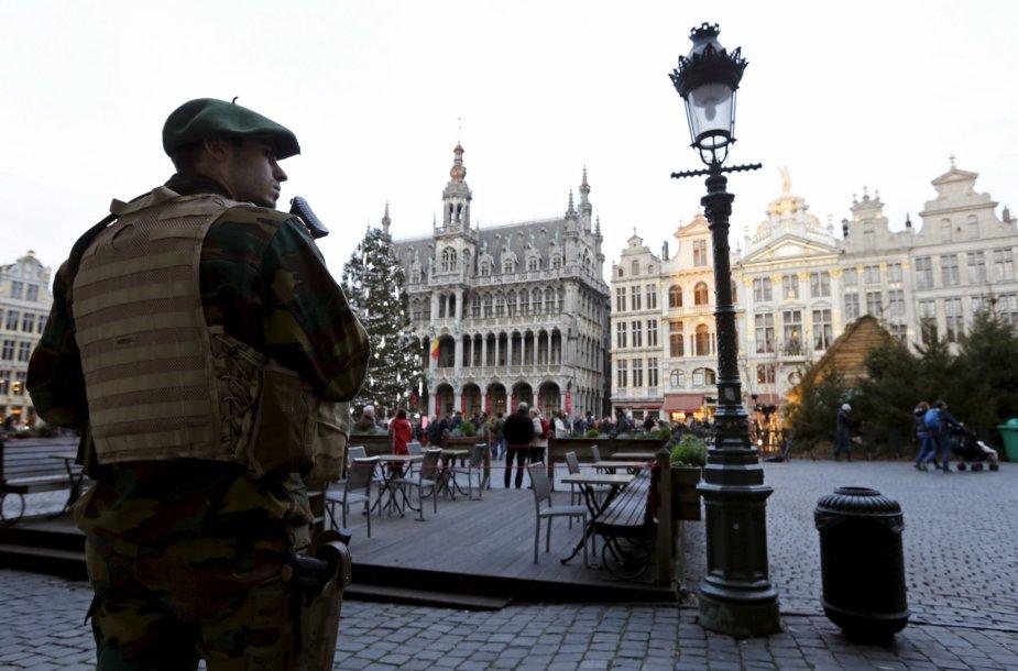 Belgų karys Briuselyje