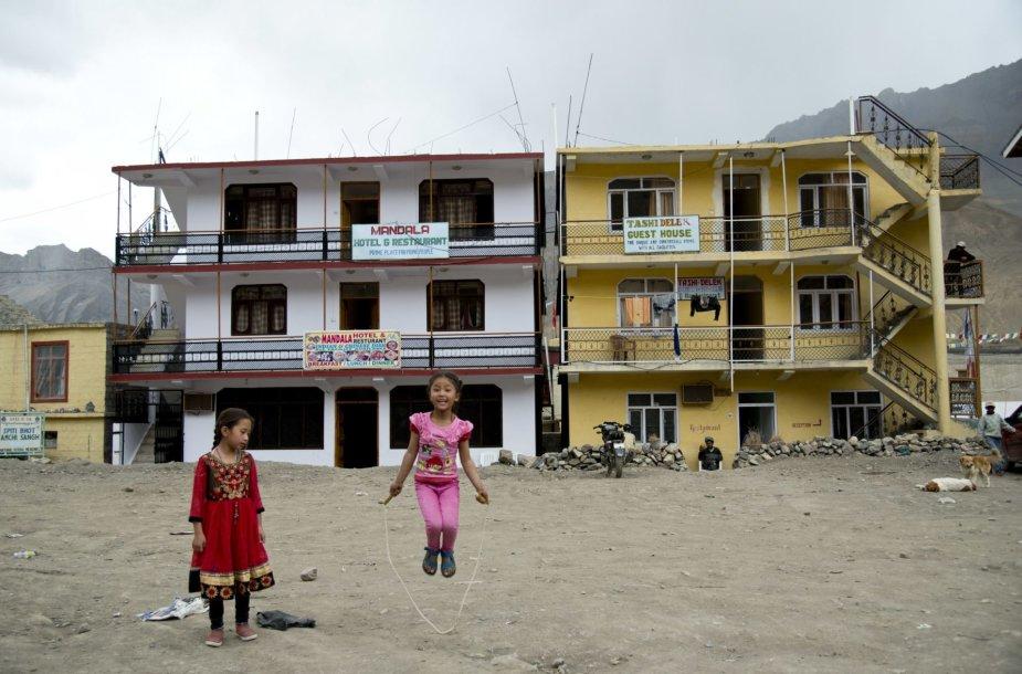 Atokus Spiti slėnis Indijos Himalajų kalnuose