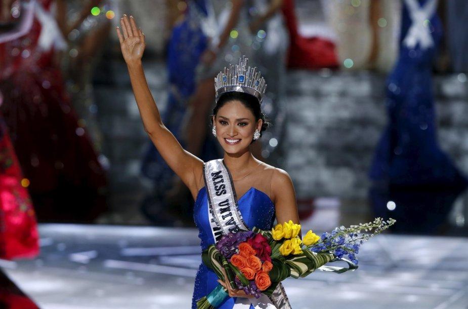 """Mis Visata"" Pia Alonzo Wurtzbach iš Filipinų"