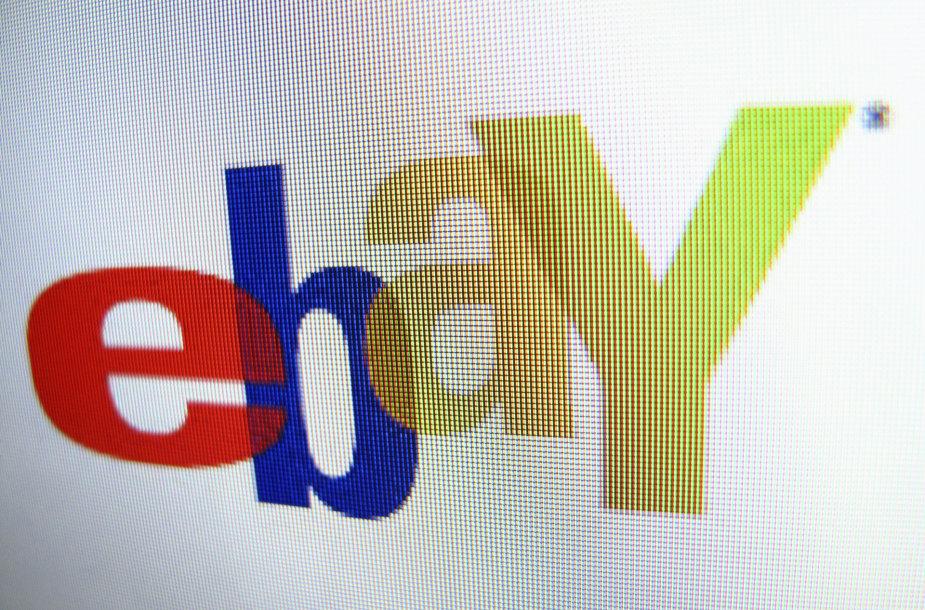 """eBay"" logotipas"