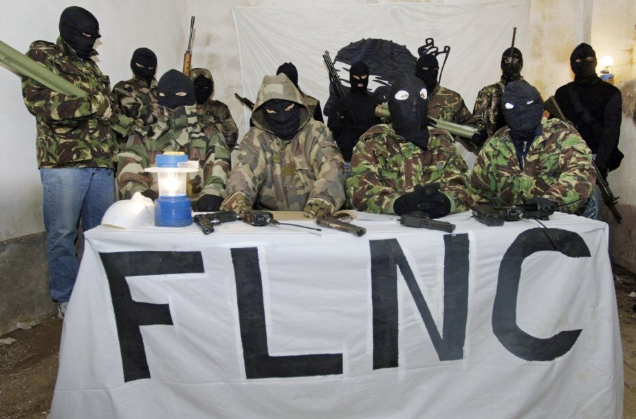 Korsikos nacionalistinio judėjimo nariai