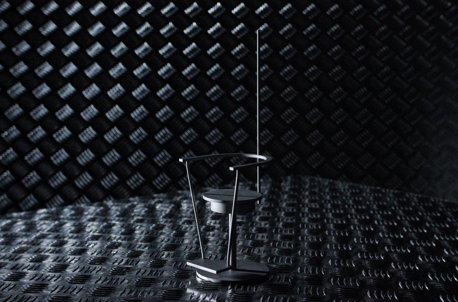 "Julijono Urbono projekto ""Baranio kėdė"" (2014) modelis"