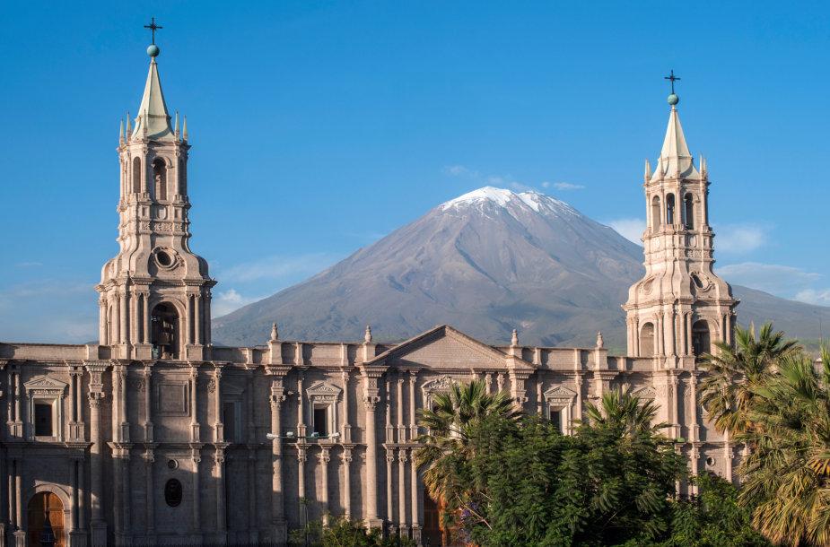 El Misti vulkanas