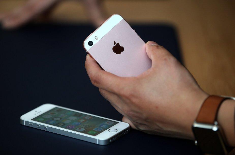 """4 colių įstrižainės """"iPhone SE"""""""