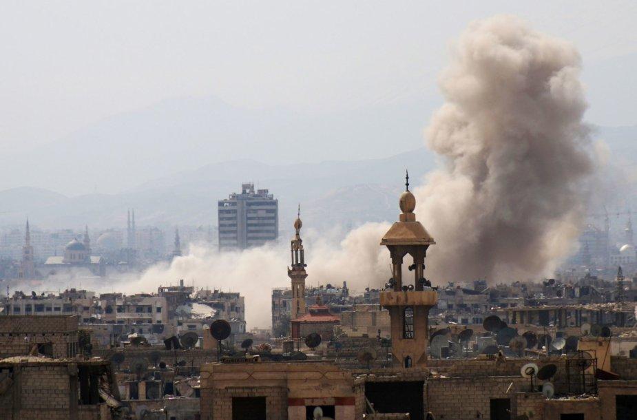 Susirėmimai Damaske
